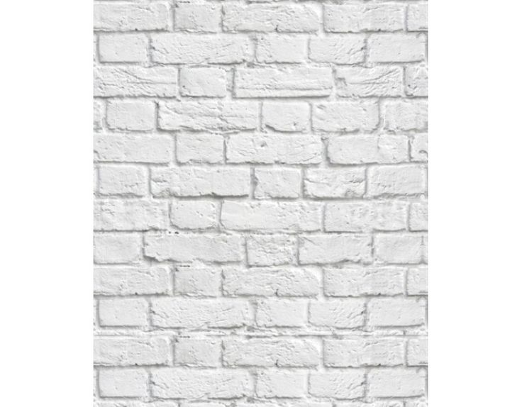 Tijolo Branco Papel de parde Pinterest Rolo ~ Quarto Tijolo Branco