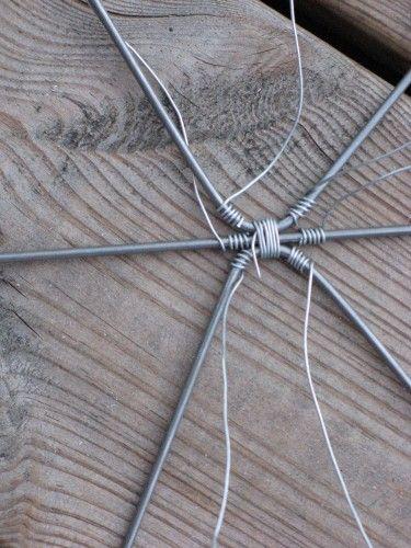 Hulda luffarslöjd, trådtjack, drát řemesel, luffararbete ... mm - Luffarslöjd