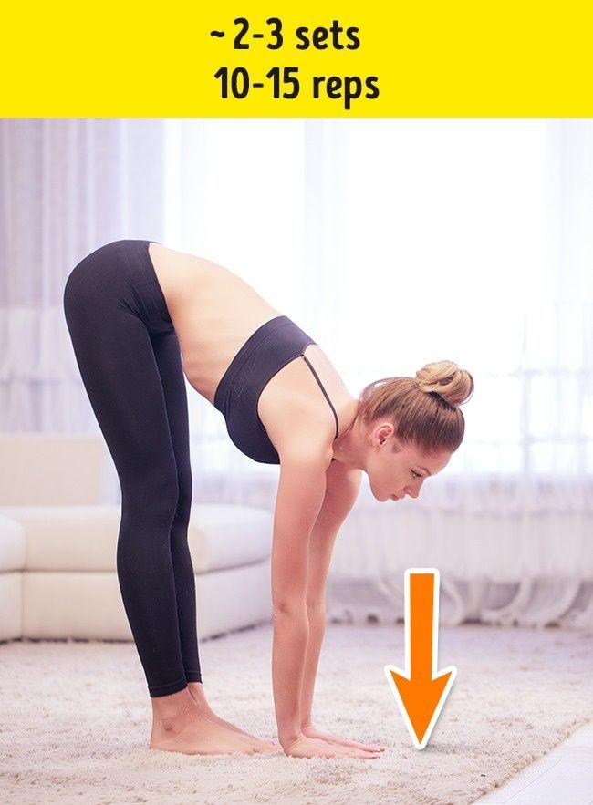 7 Efektivní Cvičení se zbavit záhybů na zádech a bocích