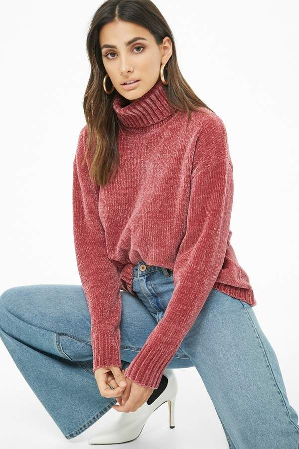 Forever Sweater In Chenille Turtleneck 2019 21 Sweaters 4nrzpq14w