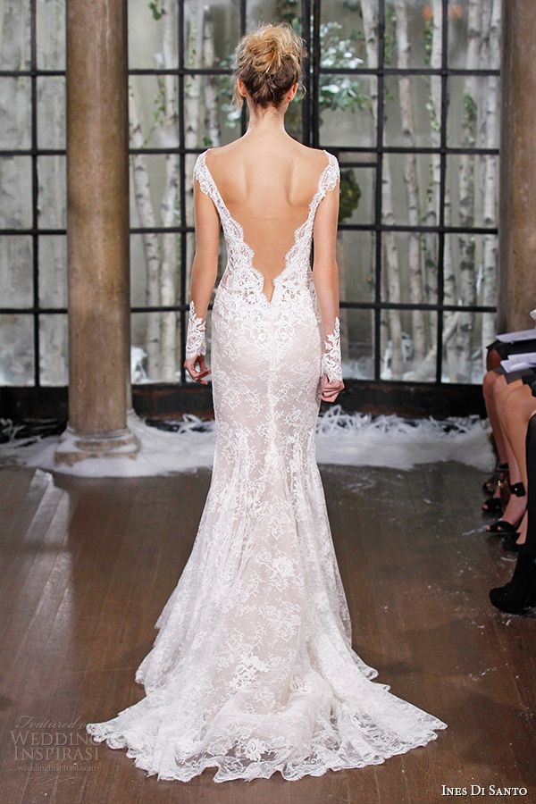 1000 images about backless wedding gowns on pinterest for Low cut back wedding dress