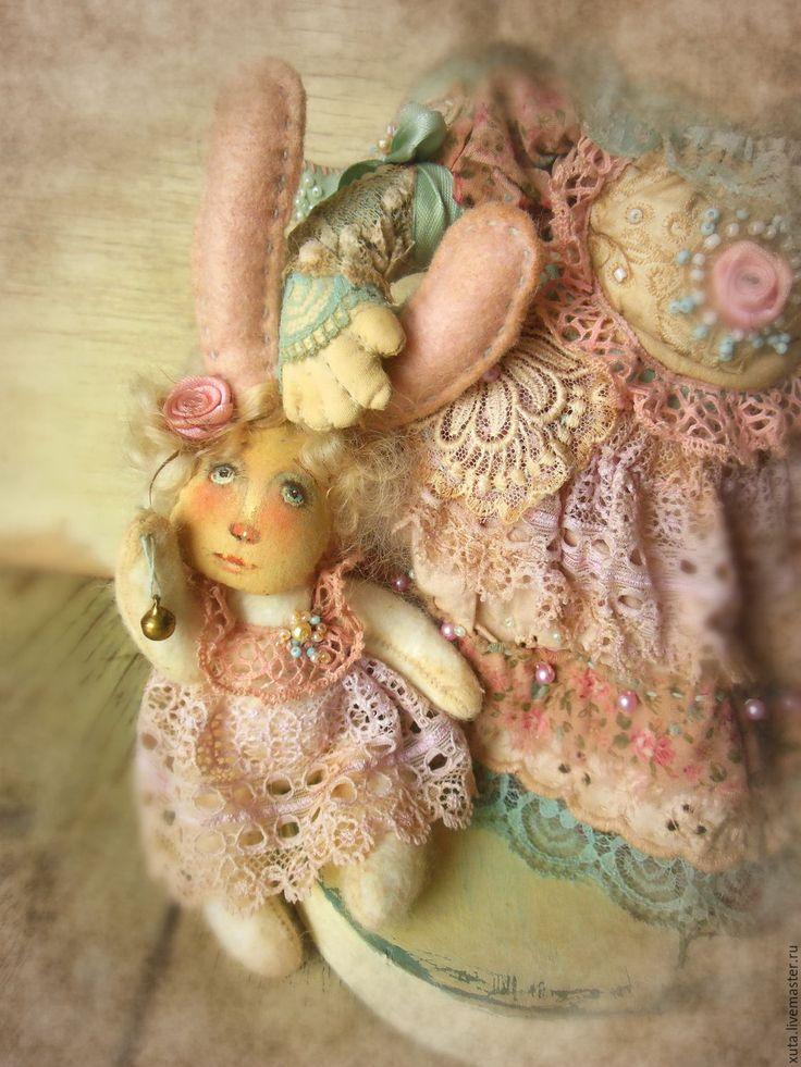 Купить Спят усталые ветра... - розовый, спят усталые ветра, девочка ангел, ангел в подарок
