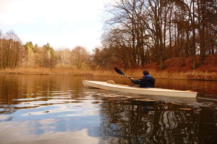 Mit Christian im Herbst auf der Havel #kanufahren