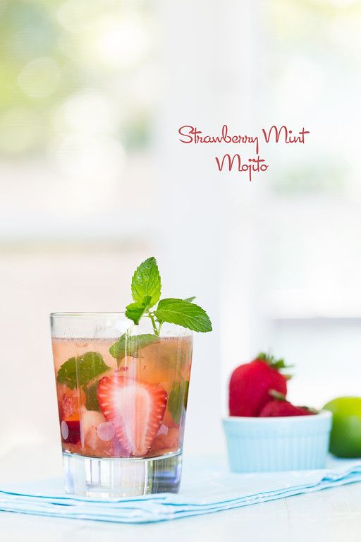 Strawberry Mint Mojito - perfectly refreshing and delicious!