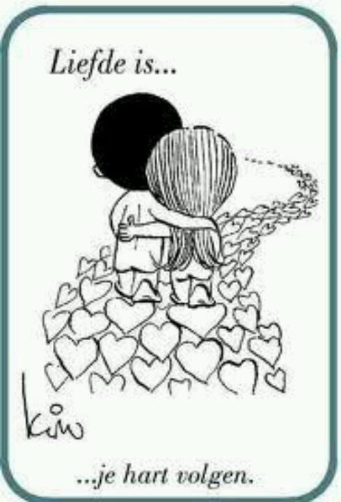Liefde is.. je hart volgen. Dat doen we al bijna 30 jaar