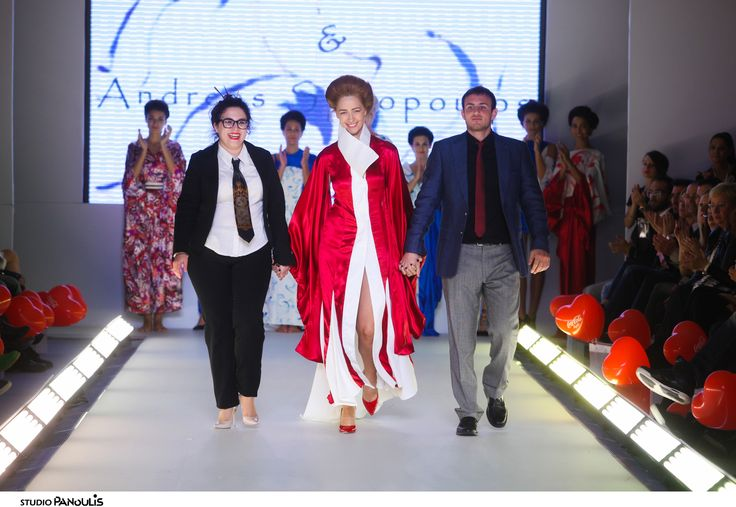 Lena Lada fashion designer -AXDW Athens fashion week -SS2015