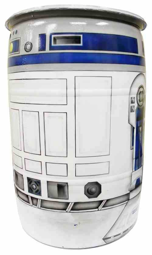 Rain barrel the husband sent me a link to. He loves me.  Now if I could just get him to make it for me.