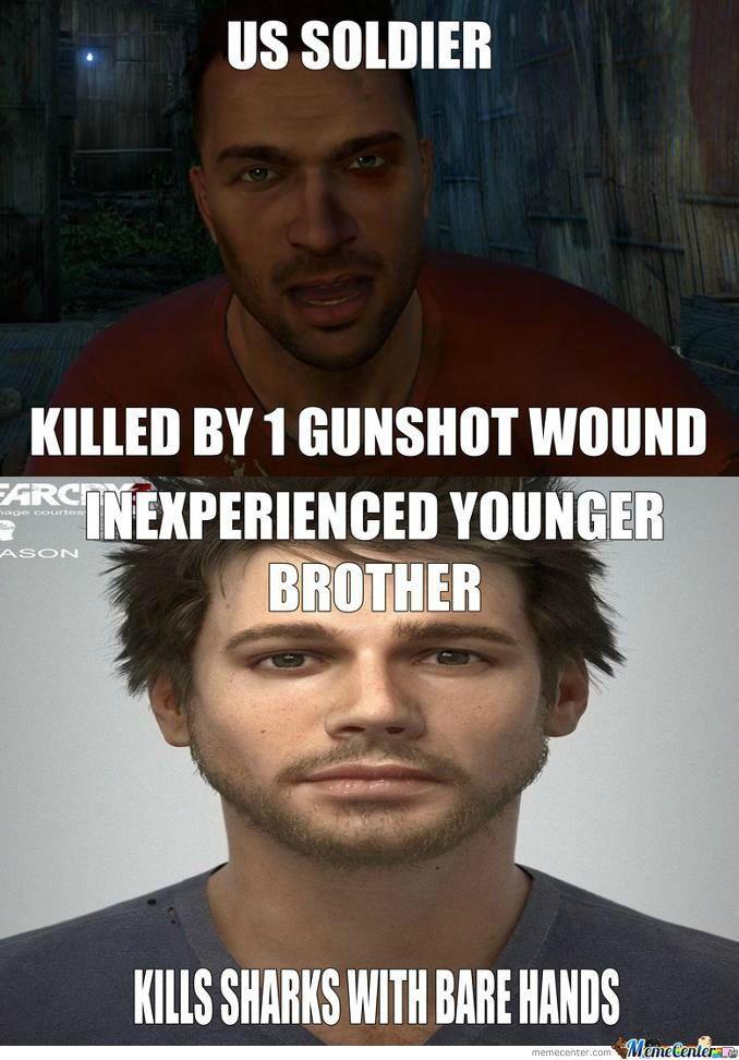It happens. Far Cry 3