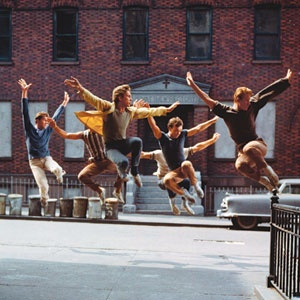 West Side Story - jets!