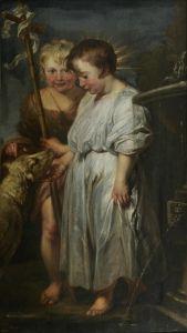 The Christ Child, Saint John and the Lamb - Anthony van Dyck - The Athenaeum