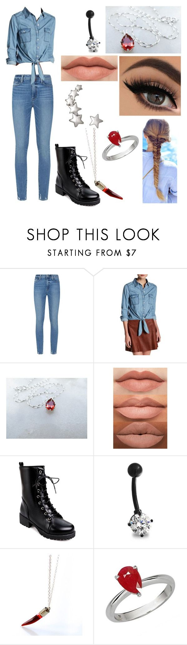"""""""Katrena Prince's Outfit (HEMLOCK GROVE)"""" by katrenakearns ❤ liked on Polyvore featuring Paige Denim, cupcakes and cashmere, Bling Jewelry and YES"""