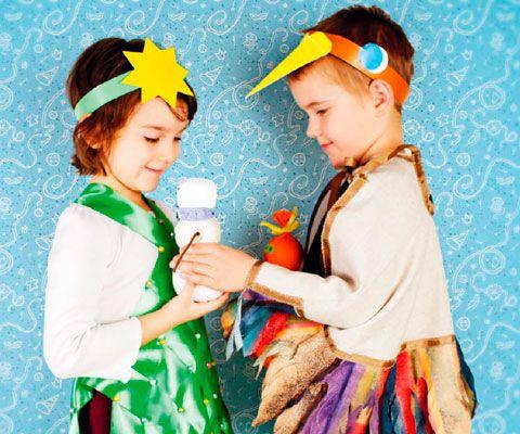 Карнавальные костюмы своими руками к Новому году: почти не надо шить!