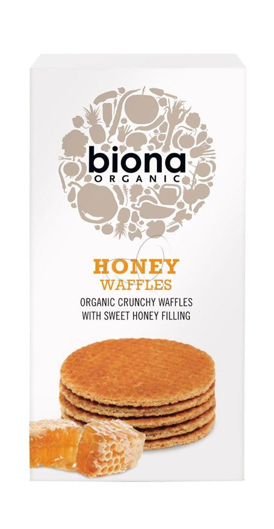 "Cialde al miele ""Honey Waffles"" Biona | NaturaSì | Il supermercato bio online"