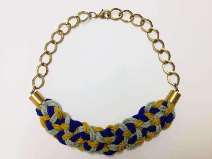 Le nouveau Kit DIY de milh: le collier tressé par NUMERO 8