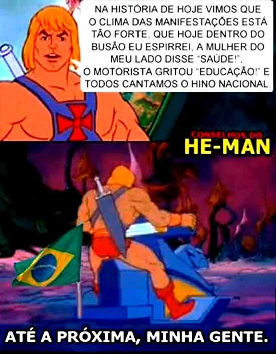 Os Mais engraçados  conselhos do He-Man: Morra de rir!   Lembra daquela parte final do desenho do HE-MAN que ele aparecia para dar conse...