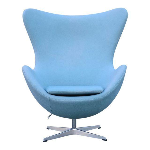 Egg Chair, Blue Egg Chair