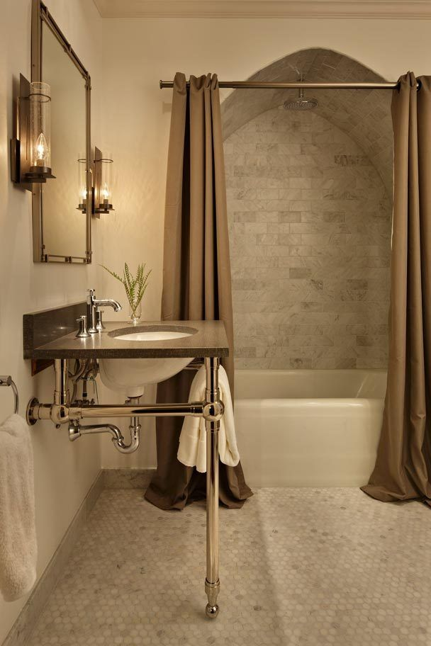 Pic Of Best Elegant shower curtains ideas on Pinterest Double shower curtain Shower curtains and Small bathroom decorating