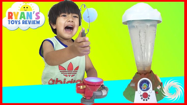awesome Marvel Science Iron Man Repulsor Ray Tech Lab and Tornado Maker Toys for Kids Ryan ToysReview