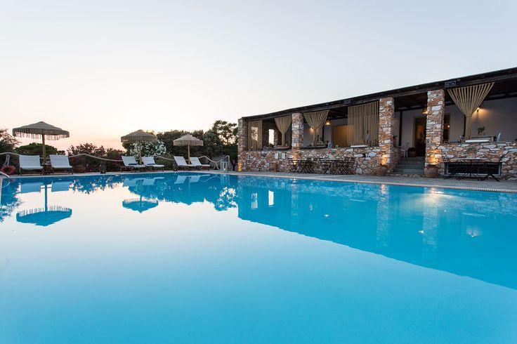 Parosland Hotel, Aliki beach luxury hotels, 4 star hotels in paros island greece