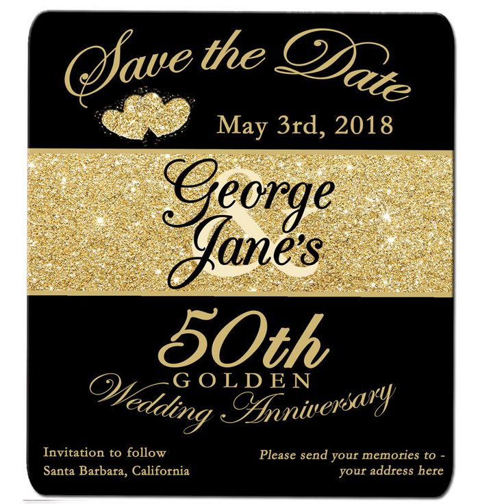 Golden Save The Date For Wedding Invitation Wedding: 17 Best Ideas About Save The Date Magnets On Pinterest