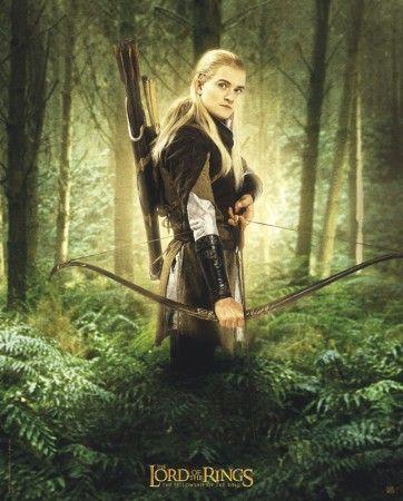 Poster Lord of the rings Le seigneur des anneaux Legolas 3