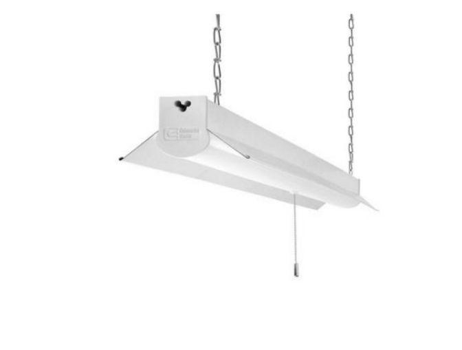 4Ft LED Shop Light Fixture Garage Work Lights Lighting White Lamp Watt Warehouse #CommercialElectric