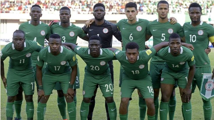 Nigeria Drops To 38th In FIFA World Rankings; 6th In Africa