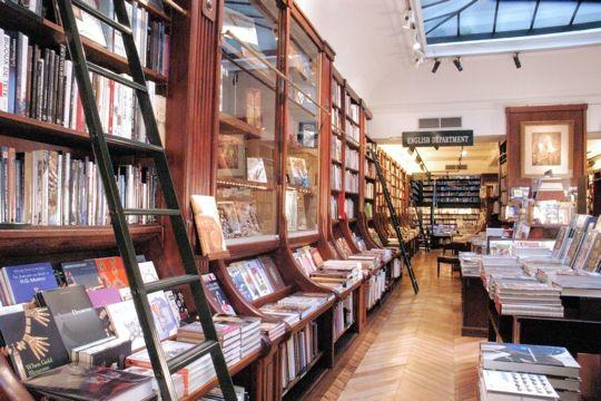 la librairie galignani à Paris