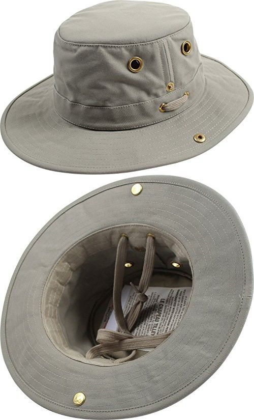 c86b6abfbf3 Tilley Unisex T3 Cotton Duck Snap-up Brim Hat
