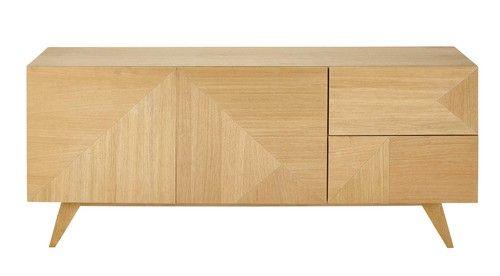 Credenza bassa in legno L 165 cm