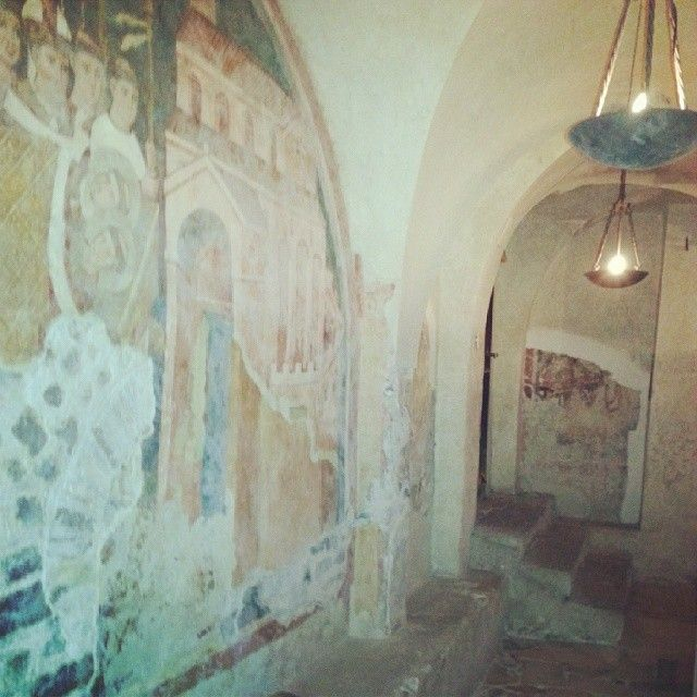 Affresco in Cripta