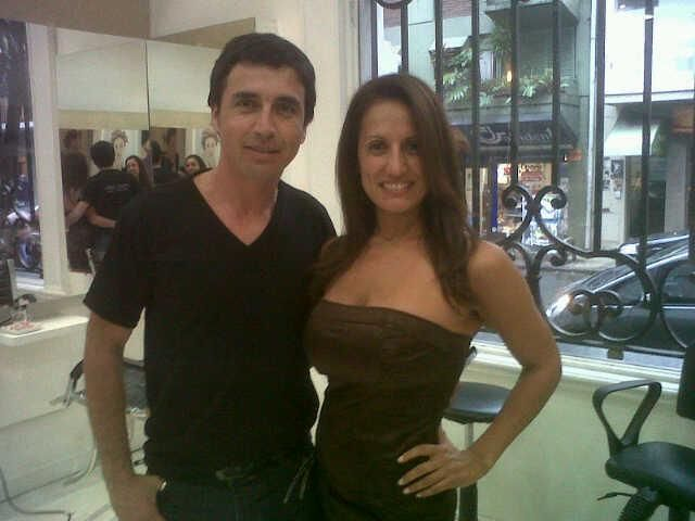 Alvaro con Nancy Dur
