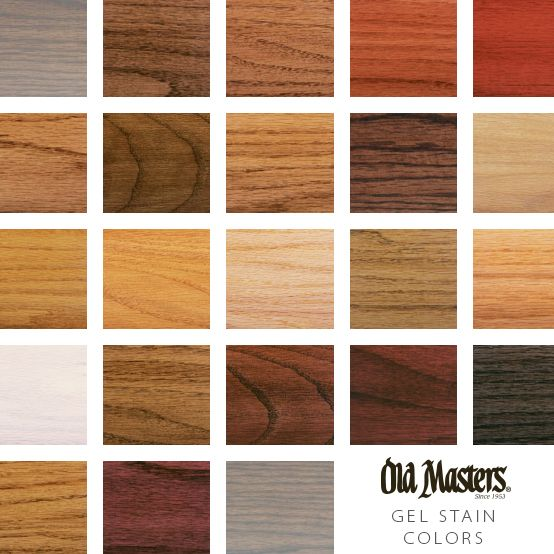 Gel Stain In 2020 Old Masters Gel Stain Cedar Stain