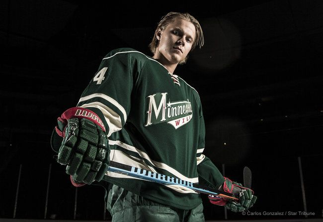 Minnesota Wild Mikael Granlund (64). ] CARLOS GONZALEZ cgonzalez@startribune.com - September 17, 2015, St. Paul, MN, Xcel Energy Center, NHL, Minnesota Wild
