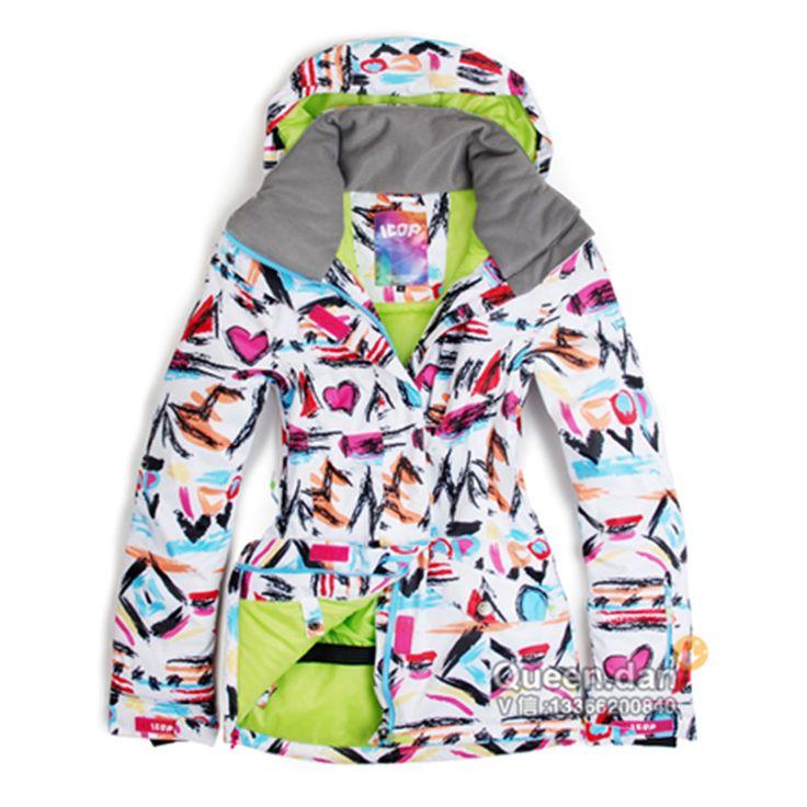 New outdoor ski jacket women snowboard jacket skiwear winter suit skiing and snowboarding chaquetas de esqui ski jas vrouwen
