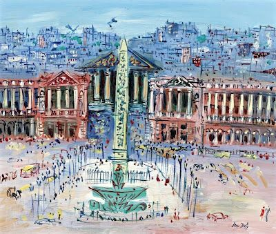 The Place de la Concorde - Raoul Dufy