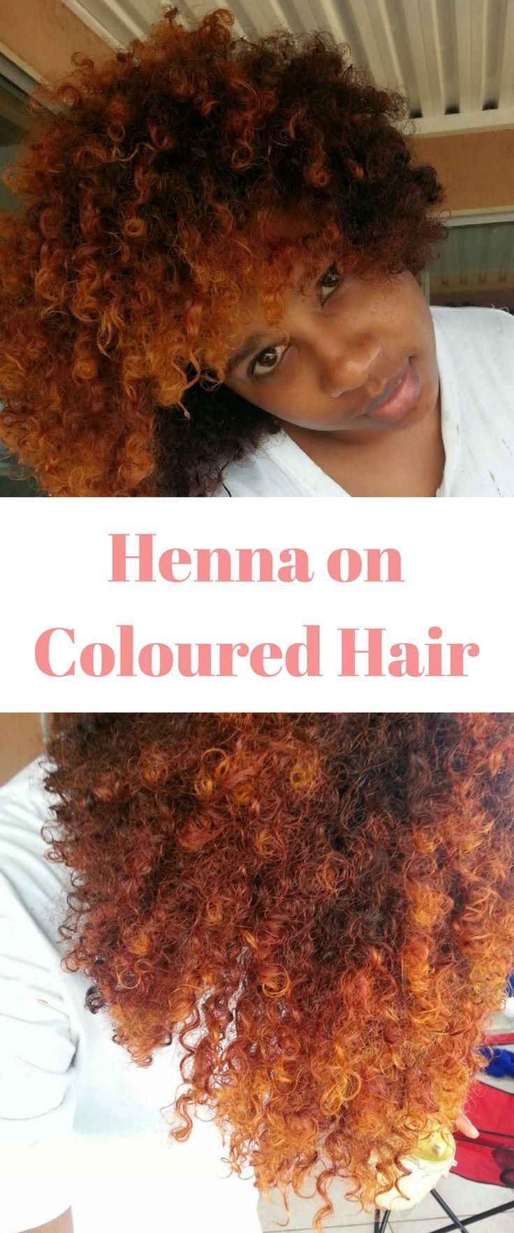 Henna Treatment For Hair Preparing My Natural Hair For Colour