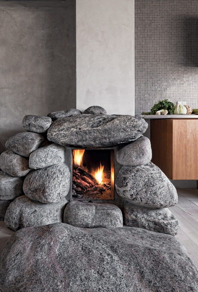 54 best images about Stone Fireplaces on Pinterest