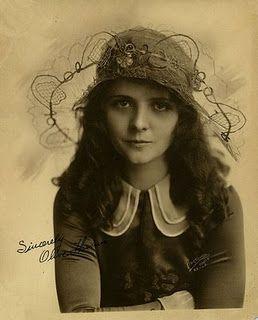 Olive Thomas, 1920's silent film star