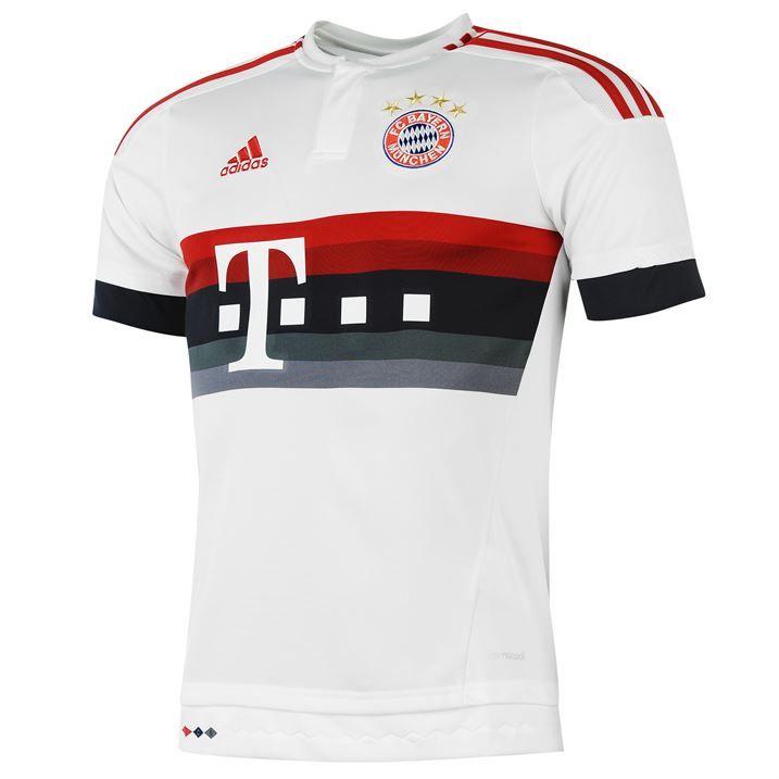 15-16 Bayern Munich Away White Jersey Shirt | Bayern Munich Jersey Shirt sale | Gogoalshop
