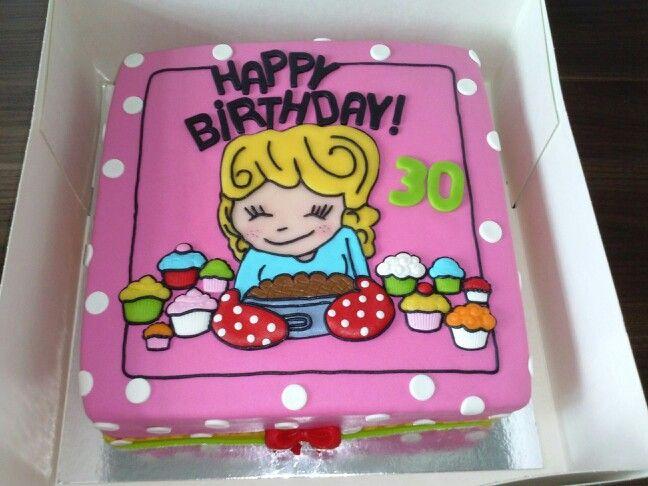 Blond Amsterdam taart