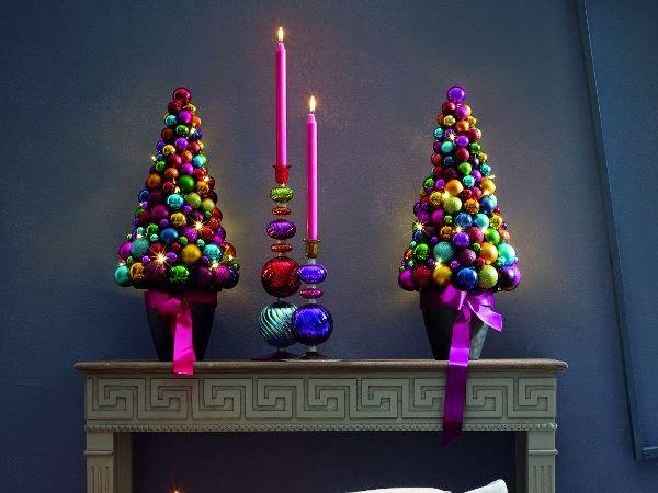 Chimenea en Navidad