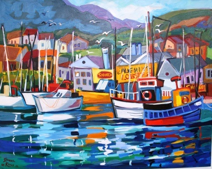 Harbour at the Cape 1160 x 920 R18000 Isabel le Roux