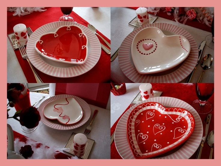 Valentine Dishes, Valentine's & Romantic Crafts