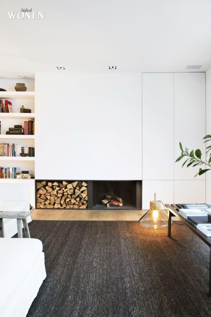 25 beste idee n over open haard boekenkast op pinterest openhaard planken schouwmantel en - Bibliotheques ontwerp ...