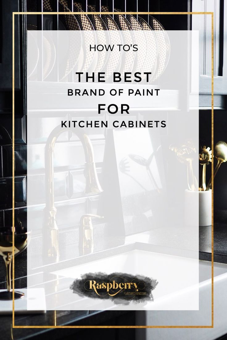 The Best Brand Of Paint For Kitchen Cabinets Kitchen Paint Dark
