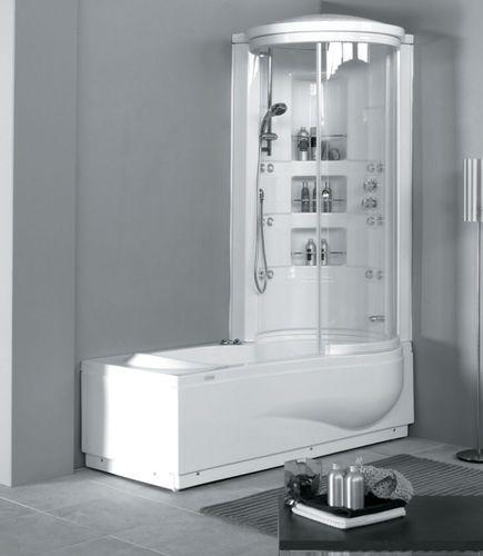 Corner bathtub shower combination STAR BOX COLACRIL