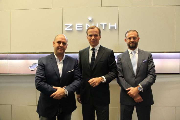 Nadim Mehanna, the Managing Owner of the Motor Show Multimedia Network and once a racer himself, the new friend of the brand for Zenith Watches