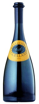 Bellavista - Uccellanda Terre di Franciacorta DOC 2007 - An oak-aged chardonnay with apple flavor notes from Northern Italy - my favorite white!