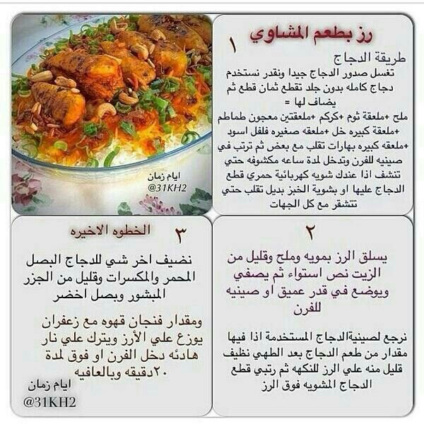 Arabic Food Menu
